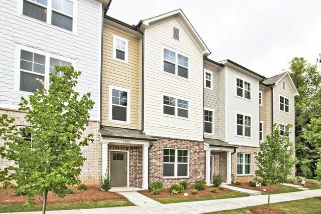 1610 Falcon Crest Way #59, Decatur, GA 30032 (MLS #6821605) :: Tonda Booker Real Estate Sales