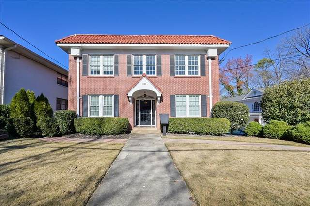 824 Greenwood Avenue NE #7, Atlanta, GA 30306 (MLS #6821791) :: North Atlanta Home Team