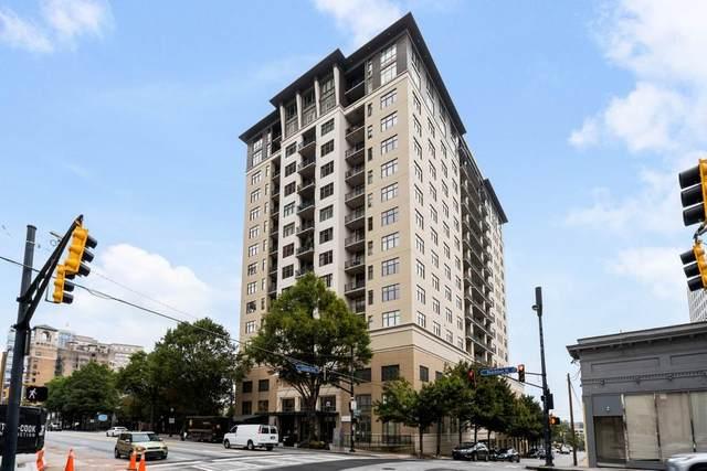 565 Peachtree Street #1403, Atlanta, GA 30308 (MLS #6822958) :: North Atlanta Home Team
