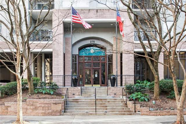 275 13th Street NE #1008, Atlanta, GA 30309 (MLS #6823592) :: The North Georgia Group
