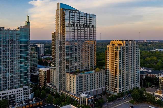 855 Peachtree Street NE #1402, Atlanta, GA 30308 (MLS #6823664) :: The Zac Team @ RE/MAX Metro Atlanta