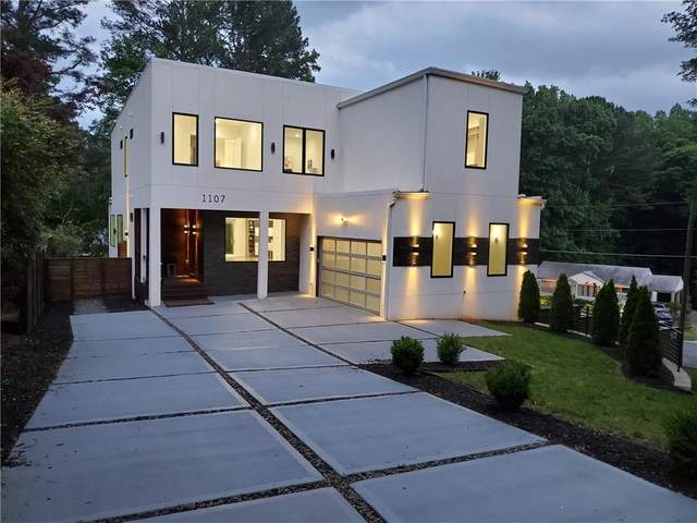 1107 Country Lane NE, Atlanta, GA 30324 (MLS #6824206) :: Tonda Booker Real Estate Sales