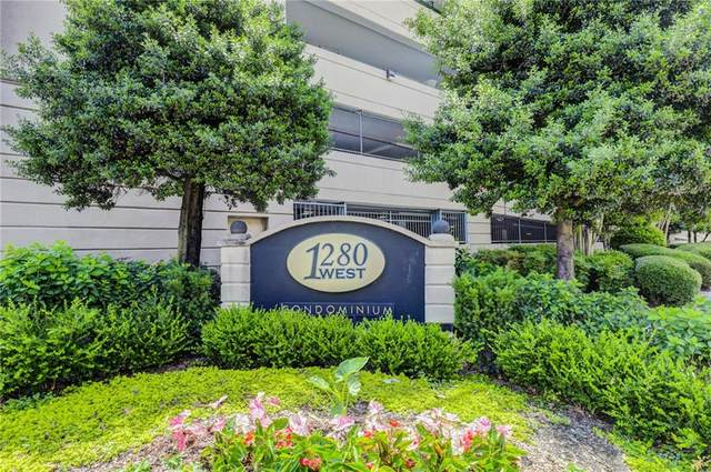 1280 W Peachtree Street NW #1007, Atlanta, GA 30309 (MLS #6824773) :: The Justin Landis Group