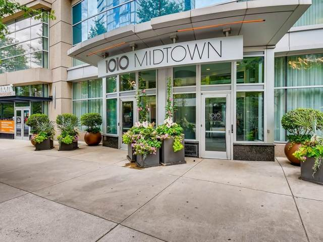 1080 Peachtree Street NE #2304, Atlanta, GA 30309 (MLS #6824952) :: The Zac Team @ RE/MAX Metro Atlanta