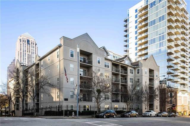 1075 Peachtree Walk NE A517, Atlanta, GA 30309 (MLS #6824993) :: The Justin Landis Group