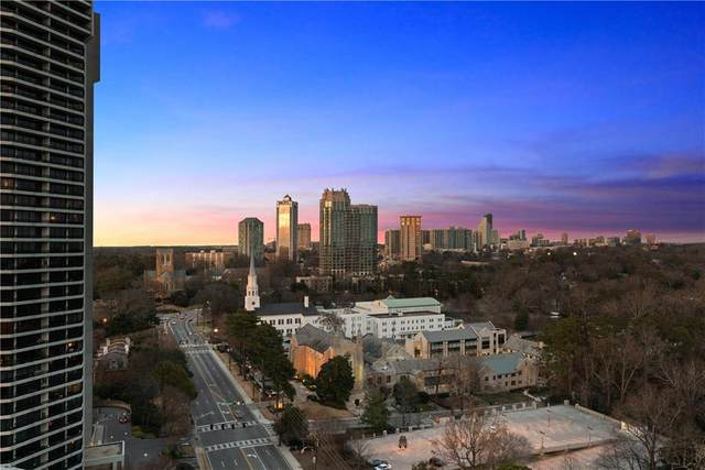 2626 Peachtree Road NW #1106, Atlanta, GA 30305 (MLS #6825371) :: The North Georgia Group