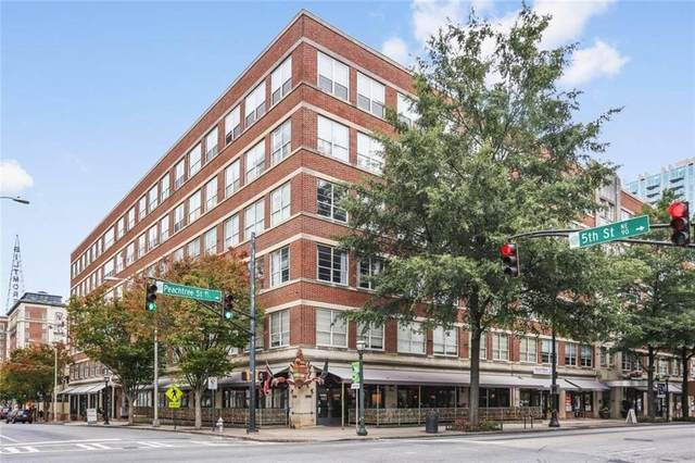800 Peachtree Street NE #8523, Atlanta, GA 30308 (MLS #6825443) :: The Gurley Team