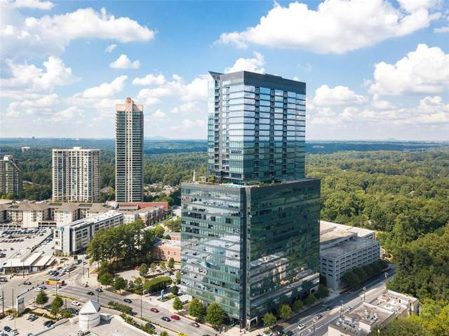 3630 Peachtree Road NE #2307, Atlanta, GA 30326 (MLS #6825902) :: The North Georgia Group