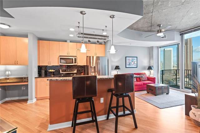 400 W Peachtree Street NW #2514, Atlanta, GA 30308 (MLS #6826351) :: Path & Post Real Estate