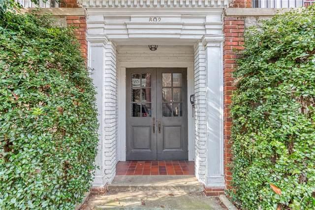 802 Frederica Street NE #4, Atlanta, GA 30306 (MLS #6827179) :: The Justin Landis Group