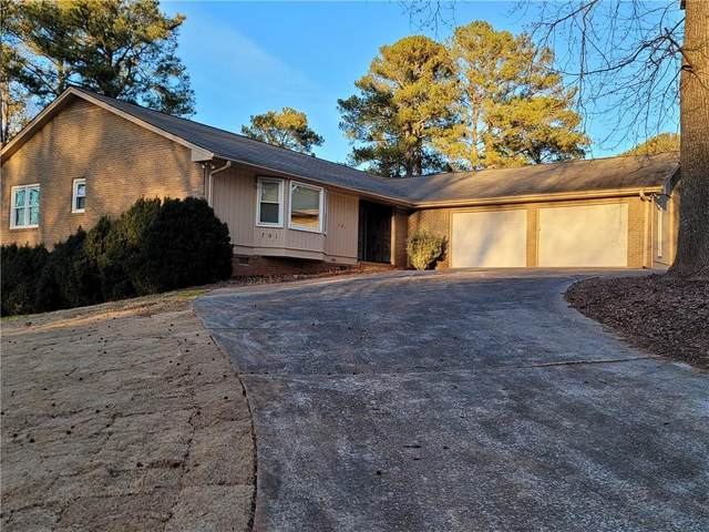 791 Carlisle Club Drive, Stone Mountain, GA 30083 (MLS #6827748) :: The Zac Team @ RE/MAX Metro Atlanta