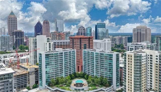 950 W Peachtree Street NW #1507, Atlanta, GA 30309 (MLS #6827883) :: The Cowan Connection Team