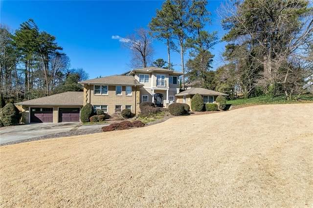 4002 Shady Lane Drive SE, Smyrna, GA 30080 (MLS #6829045) :: North Atlanta Home Team