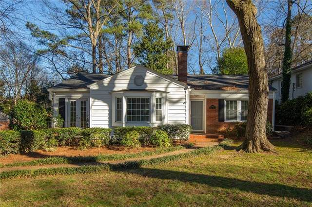 2261 Melante Drive NE, Atlanta, GA 30324 (MLS #6829534) :: The Zac Team @ RE/MAX Metro Atlanta