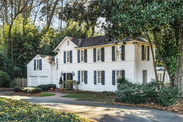 100 W Brookhaven Drive NE, Atlanta, GA 30319 (MLS #6829640) :: Scott Fine Homes at Keller Williams First Atlanta