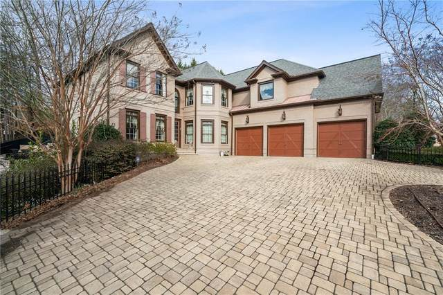 245 Steeple Point Drive, Roswell, GA 30076 (MLS #6829900) :: The North Georgia Group