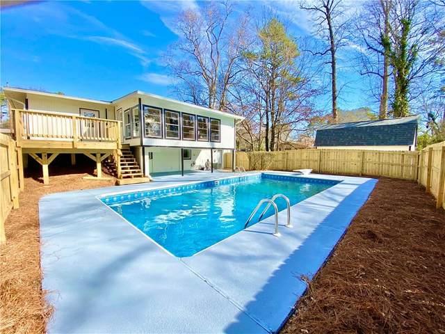 444 Concord Woods Drive SE, Smyrna, GA 30082 (MLS #6830389) :: North Atlanta Home Team