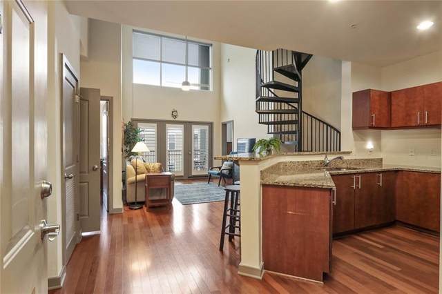390 17th Street NW #6050, Atlanta, GA 30363 (MLS #6831260) :: The Gurley Team