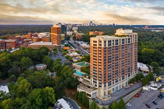 1820 Peachtree Street NW #1205, Atlanta, GA 30309 (MLS #6832018) :: North Atlanta Home Team