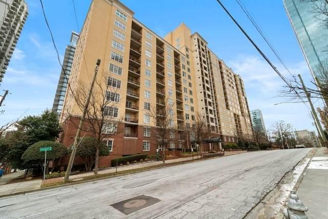 1101 Juniper Street NE #613, Atlanta, GA 30309 (MLS #6832967) :: The Hinsons - Mike Hinson & Harriet Hinson