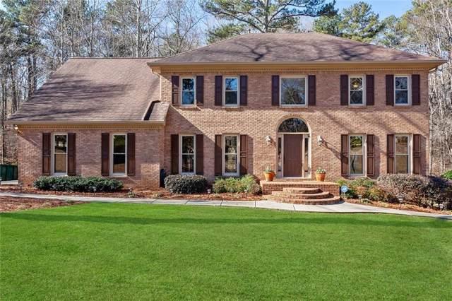 4018 Allenhurst Drive, Peachtree Corners, GA 30092 (MLS #6833579) :: Tonda Booker Real Estate Sales