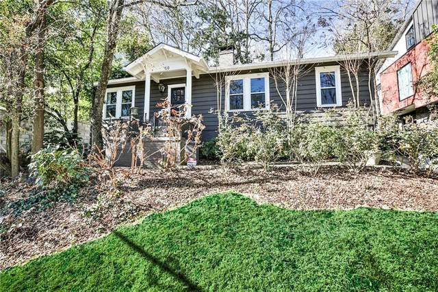 60 Montgomery Ferry Drive NE, Atlanta, GA 30309 (MLS #6834560) :: RE/MAX Prestige