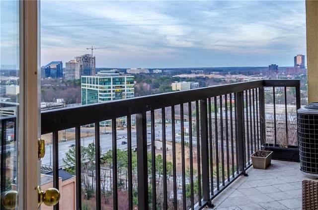 795 Hammond Drive #1901, Atlanta, GA 30328 (MLS #6834607) :: North Atlanta Home Team