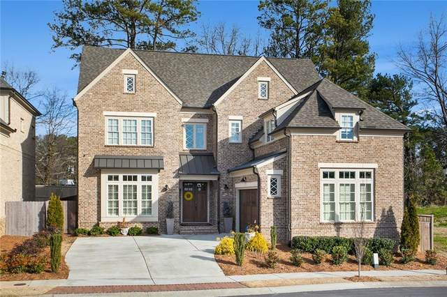 1855 Kent Avenue, Dunwoody, GA 30338 (MLS #6834853) :: Scott Fine Homes at Keller Williams First Atlanta