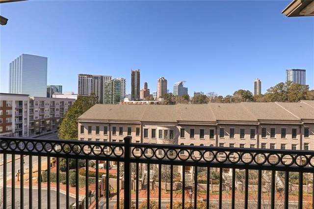 3635 E Paces Circle NE #1409, Atlanta, GA 30326 (MLS #6835963) :: The Cowan Connection Team