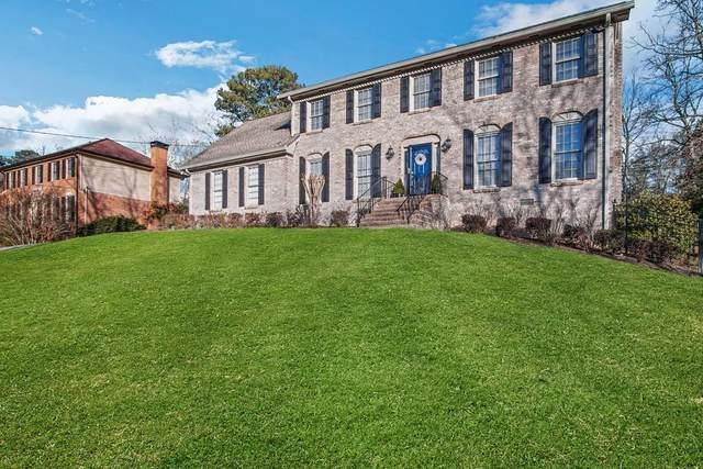 6197 Rosecommon Drive, Peachtree Corners, GA 30092 (MLS #6838162) :: Scott Fine Homes at Keller Williams First Atlanta