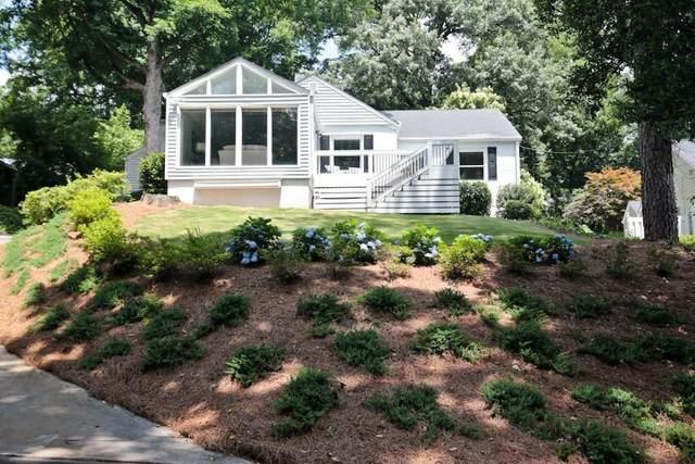 355 N Garden Lane NW, Atlanta, GA 30309 (MLS #6838329) :: The Zac Team @ RE/MAX Metro Atlanta