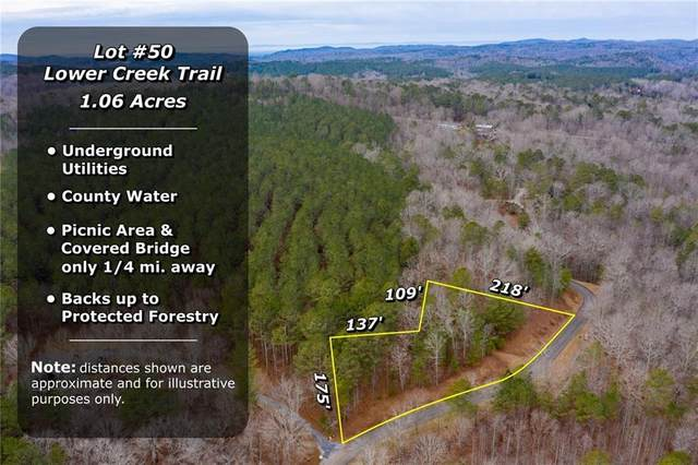 0 Lower Creek Trail, Ellijay, GA 30540 (MLS #6838578) :: 515 Life Real Estate Company