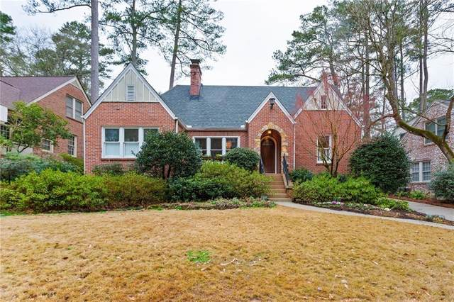 1724 Meadowdale Avenue NE, Atlanta, GA 30306 (MLS #6839863) :: Scott Fine Homes at Keller Williams First Atlanta