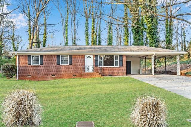 640 Monticello Drive SW, Mableton, GA 30126 (MLS #6839866) :: The Realty Queen & Team