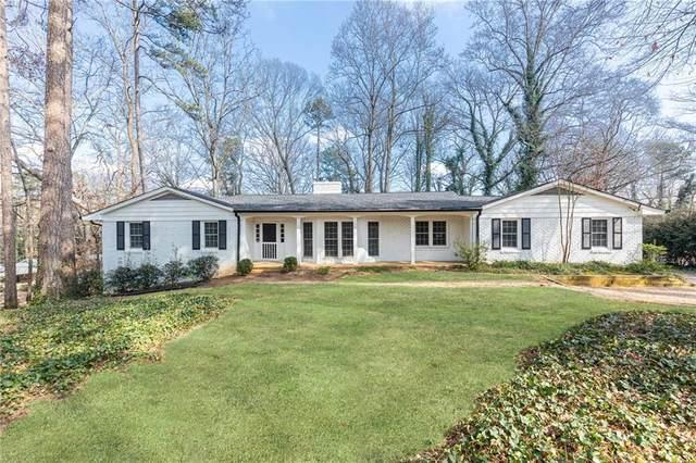 5305 Peachtree Dunwoody Road, Atlanta, GA 30342 (MLS #6840454) :: Tonda Booker Real Estate Sales