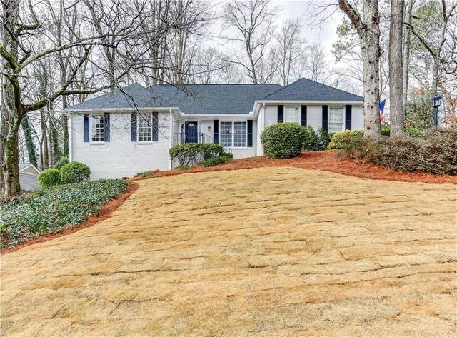 210 Abington Drive, Sandy Springs, GA 30328 (MLS #6841077) :: Scott Fine Homes at Keller Williams First Atlanta