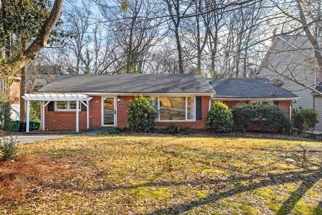 1331 Briarwood Drive NE, Atlanta, GA 30306 (MLS #6842280) :: North Atlanta Home Team