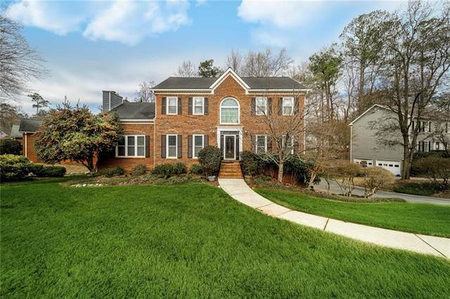 1824 Walker Ridge Drive SW, Marietta, GA 30064 (MLS #6842851) :: Tonda Booker Real Estate Sales