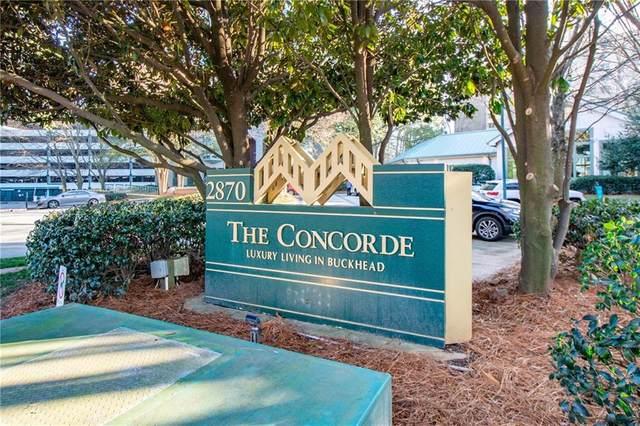 2870 Pharr Court South NW #502, Atlanta, GA 30305 (MLS #6842985) :: Path & Post Real Estate