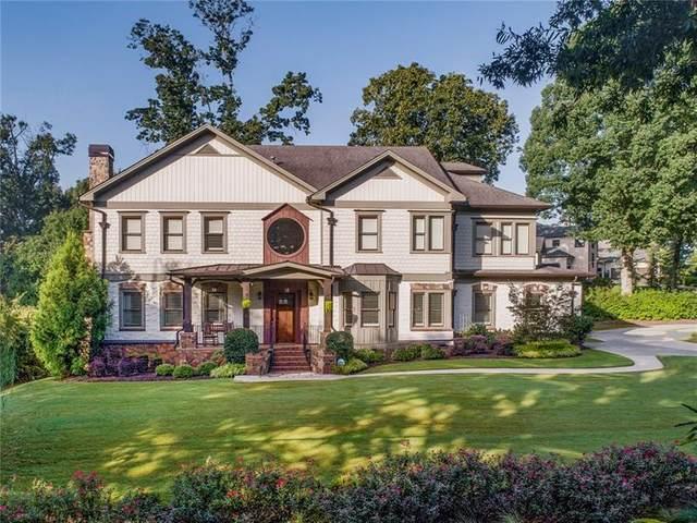 5302 Harris Circle, Dunwoody, GA 30338 (MLS #6844190) :: The Kroupa Team | Berkshire Hathaway HomeServices Georgia Properties