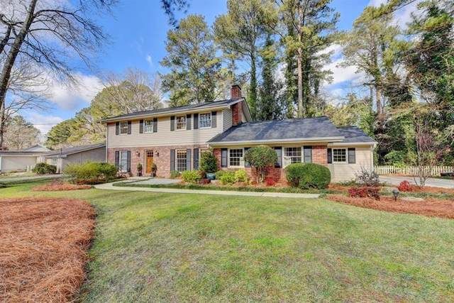 1730 North Springs Drive, Dunwoody, GA 30338 (MLS #6844553) :: Scott Fine Homes at Keller Williams First Atlanta