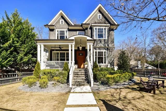 922 Amsterdam Avenue NE, Atlanta, GA 30306 (MLS #6845870) :: Good Living Real Estate