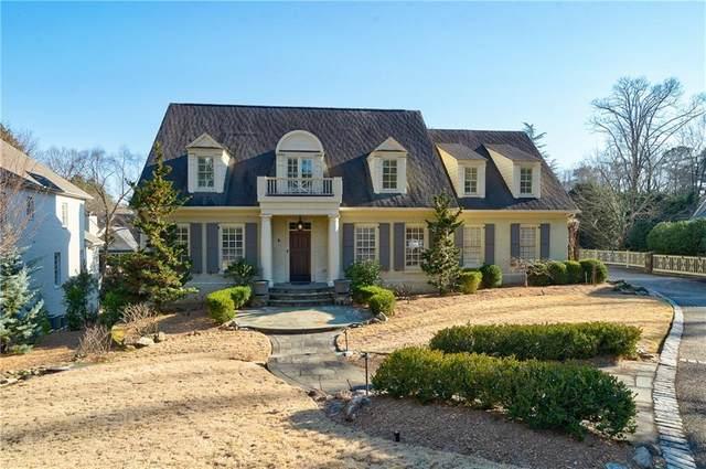 4485 Club Drive NE, Atlanta, GA 30319 (MLS #6846194) :: Lakeshore Real Estate Inc.