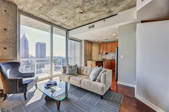 855 Peachtree Street NE #3107, Atlanta, GA 30308 (MLS #6846471) :: The Cowan Connection Team