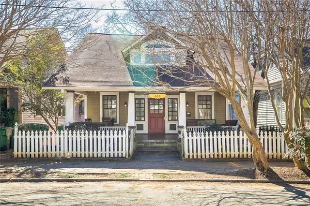 653 Rosalia Street SE, Atlanta, GA 30312 (MLS #6846656) :: Scott Fine Homes at Keller Williams First Atlanta