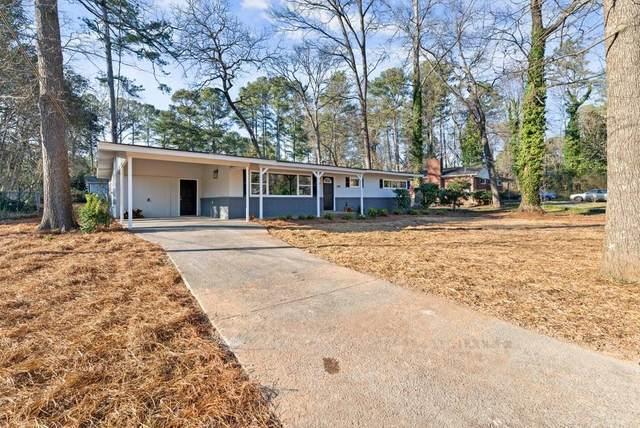 586 Oakland Drive SE, Marietta, GA 30067 (MLS #6846870) :: Scott Fine Homes at Keller Williams First Atlanta
