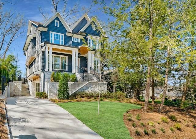 1021 Reeder Cir NE, Atlanta, GA 30306 (MLS #6846944) :: Good Living Real Estate