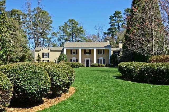 1737 W Wesley Road NW, Atlanta, GA 30327 (MLS #6847090) :: The Butler/Swayne Team