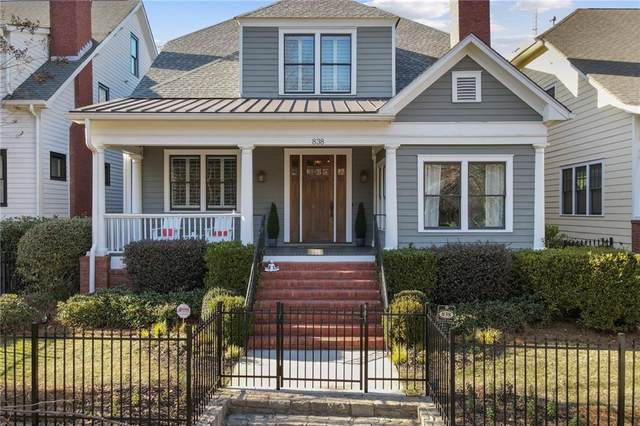 838 Lake Avenue, Atlanta, GA 30307 (MLS #6847098) :: The Kroupa Team | Berkshire Hathaway HomeServices Georgia Properties