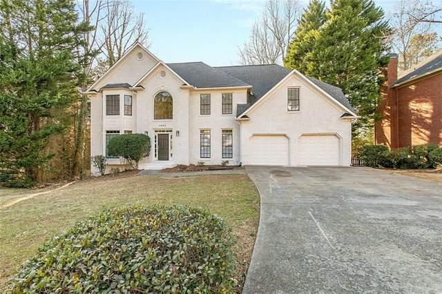 1353 Downington Trace NW, Acworth, GA 30101 (MLS #6847347) :: Scott Fine Homes at Keller Williams First Atlanta